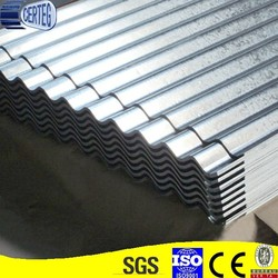 0.26mm professional China wholesale galvanized corrugated sheet metal roofing/zinc roof sheets