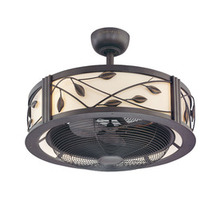 allen + roth Eastview 23-in Aged Bronze Indoor Downrod Mount Ceiling Fan with Light Kit and Remote Control