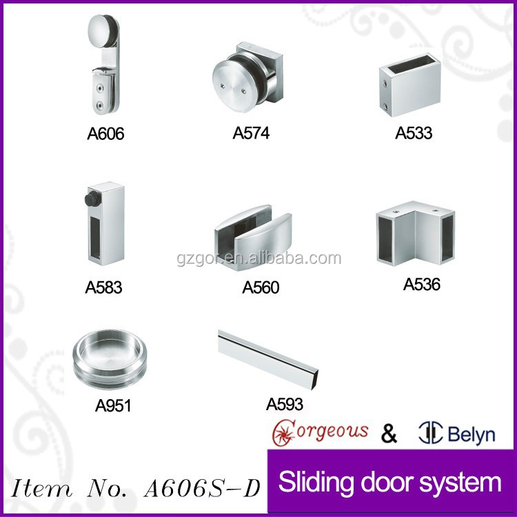 glass sliding shower door parts roller guide wheel bearing buy