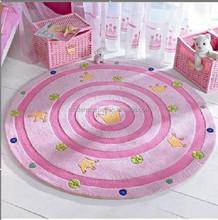 handmade redonda baby tapetes para o berçário