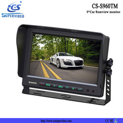 9 sunvisor car tft lcd monitor