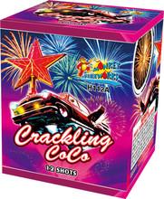 High grade high quality birthday cake candles firework 0.8'' 12 Shots Crackling CoCo fireworks