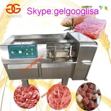 Fresh meat and frozen meat cube cutting machine / Meat dicing machine / Meat cube cutter