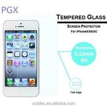 full cover thickness 0.33mm for iphone 5 style!! for iphone 4 4g 4s back glass cover