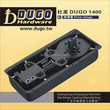Two Swing Hydraulic Adjust Door Closer Two Speed Valve Floor Machine For Glass Door DUGO 1400