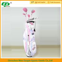 titanium alloy iron carbon fiber golf club