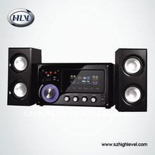 Active Multimedia Amplified 2.1 Speaker System with USB/SD/FM and Remote function