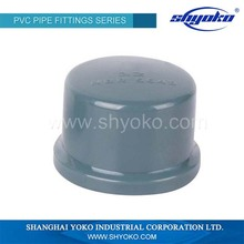 China Manufacture pvc pipe threaded end cap