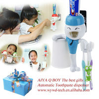 Innovative automatic Toothpaste dispenser logo promotional gifts/Wy-080923Q