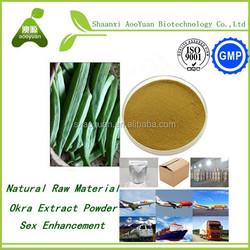 2015 new supplier lowest price okra extract/Dried okra powder