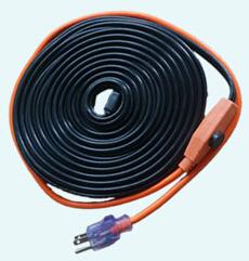 c ble chauffant 220v pour tuyau d 39 eau avec thermostat de temp rature autres fils c bles. Black Bedroom Furniture Sets. Home Design Ideas