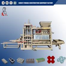 Automatic concrete block making machinery QT8-15 cement interlocking brick machinery for paving block