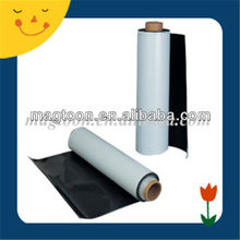 China strong flexible adhesive rubber coated magnet