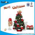 beartiful de bricolaje de la felpa de navidad musical del árbol de juguete