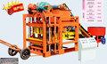 Qt4-25 máquina automática semi para fazer tijolos de cimento blocos para venda
