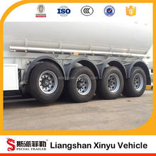 3 axles fuel tank trailer,mobile fuel trailers,50000 Liters oil tanker semi trailer