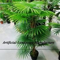 SJZJN 679 Light Green Unique Design Plant/Artificial Plant With Pots High Quality