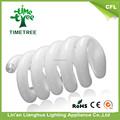 Tricolor 8000 H espiral llena 4.5 w 9 mm 2 T ahorro de energía de luz mantenimiento uniforme