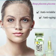 Sheep placenta placenta & coenzyme Q 10 essence anti-wrinkle and anti-aging whitening cream OEM
