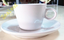 Cappuccino or espresso porcelain Coffee Cup and saucer