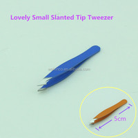Lovely Small Slanted Tip Magic Tweezer For Girls Make Up