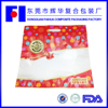 China Faihua colorful print compound materials 2kg snack food packing zipper cheap plastic bags