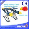 Heavy duty best alignment scissor lifting tables