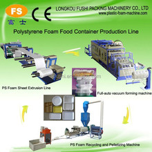 Excellent quality PS foam box and fruit/meat/vegetable tray making machine