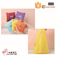 New style and hot selling nylon shopping bag, reusable shopping bag, foldable shopping bag