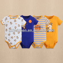 mom and bab summer Short sleeves baby rompers,100% cotton cute embroider long sleeve bodysuit, baby clothes