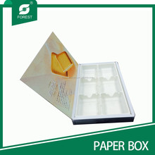 HIGH QUALITY PAPER CHOCOLATE/CAKE PACKAGING BOX