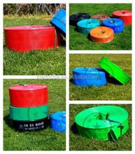"New product 2015 hot China 0.8""-8"" PVC Layflat Hose, flat soaker hose/pipe/tube"