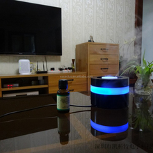 2015 the best potable color changing air purifier aroma diffuser for car air freshen