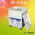 Skymen acier inoxydable bain à ultrasons 2 litre minuterie numérique& injecteur machine de nettoyage