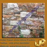 Popular Multicolor Strip Culture Stone