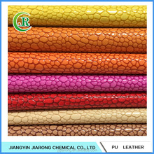Embossing Faux PU Leather for Bags