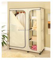 Home Furniture New Style Folding Fabric Clothes Wardrobe