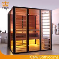 CRW AL0015 Wooden Dry Sauna room for Loss Weight