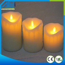 2015 Top Selling Moving Wick LED Candle Flameless candle Wholesale