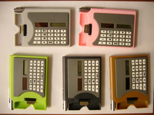 2,000,000 of 8 digits solar calculators with delivery time of 40 days, no more time