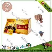 Orgánica ling zhi té amargo