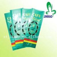 Side Gusset Plastic Coffee Packaging Bag For Coffee Bean Bag