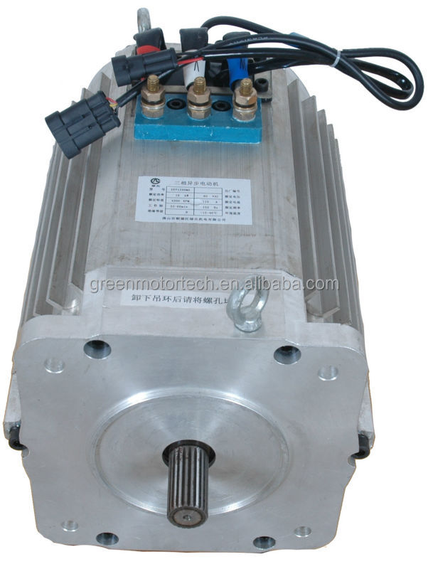 Regenerative braking ac induction motor for electric bus for Advantages of ac motor