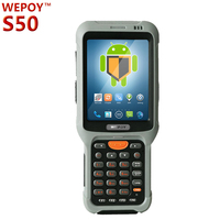 rugged handheld rfid reader barcode reader nfc reader data collector