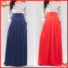 Elegant business woman maxi skirt wholesale ladies office long skirts