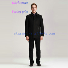 Fashion Style New Design Cashmere Wool coat Male
