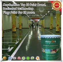 Maydos dustfree heavy duty chemical resistant liquid epoxy for cement concrete coating