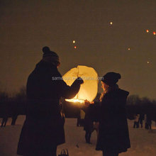 wholesale glass wool sky lantern