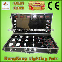 LED light Demo Case Portable trolley aluminum Case LED lighting for display cases