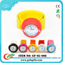 China supplier wholesale fashionable cute kid watch silicone watch gift set